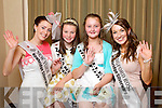 New York Rose Katie Mulholland pictured with her Rosebud Niamh O'Mahony and Longford Rose Aisling Farrell and pictured with her Rosebud Noelle Curtin pictured with her Rosebud at the Carlton Hotel at the Rose of Tralee on Friday.