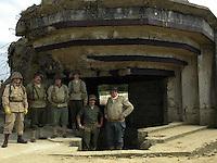 Normandia 1944-2004 60esimo dello sbarco alleato. Spiaggia di Homaha.