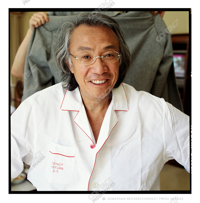 Collector David Tang, owner of the China Club restaurant, Hong Kong, China, 2007