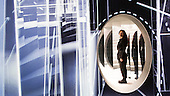 London, UK. 20 September 2016. Award-winning set designer Es Devlin (pictured) opens her first solo installation, Mirror Maze. Mirror Maze will be exhibited for five days at Copeland Park in Peckham from 21 to 25 September 2016. Mirror Maze by Es Devlin is commissioned by The Fifth Sense, a partnership between CHANEL and i-D. Devlin is a stage designer whose work spans music, theatre, opera, dance, film and fashion. She has designed stage sets for arena tours by artists ranging from Adele and Beyoncé to Kanye West and for stage productions at the Royal Opera House and the Metropolitan Opera New York.
