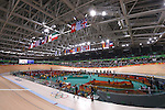 General view, <br /> AUGUST 14, 2016 - Cycling : <br /> Men's Omnium 1/6 Scratch Race <br /> at Rio Olympic Velodrome <br /> during the Rio 2016 Olympic Games in Rio de Janeiro, Brazil. <br /> (Photo by Sho Tamura/AFLO SPORT)