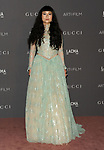 Asia Chow attending the LACMA ART and FLIM Gala 2017 honoring Mark Bradford and George Lucas. held at the LACMA in Los Angeles, CA. on November 4, 2017