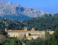 Spanien, Balearen, Mallorca, Kloster Lluc | Spain, Balearic Islands, Mallorca, Lluc Monastery