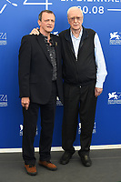 VENICE, ITALY - SEPTEMBER 5: Michael Caine and director David Batty attend the photocall for My Generation during the 74th Venice Film Festival on September 5, 2017 in Venice, Italy.<br /> CAP/BEL<br /> &copy;BEL/Capital Pictures