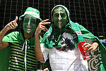 23 June 2006: Saudi Arabia fans. Saudi Arabia lost to Spain at Fritz-Walter Stadion in Kaiserslautern, Germany in match 47, a Group H first round game, of the 2006 FIFA World Cup.