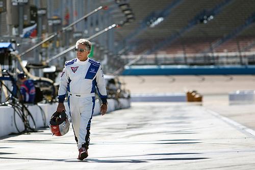 26-27 February, 2016, Avondale, Arizona USA<br /> Mario Andretti <br /> ©2016, Sam Cobb<br /> LAT Photo USA