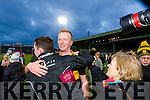 Johnny Buckley Dr. Crokes players and supporters celebrate defeating Corofin in the Semi Final of the Senior Football Club Championship at the Gaelic Grounds, Limerick on Saturday.