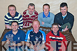Prize Night - Members of The Rock Golf Society enjoying their Prizegiving night in The Greyhound Bar on Saturday were seated l/r Alan Teahan, Brian Neenan and Billy Morriarty, standing l/r Colm McLoughlin, T.J. Galvin, David White and Johnny Kelliher..