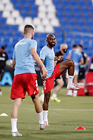 22nd June 2020; Estadio Municipal de Butarque, Madrid, Spain; La Liga Football, Club Deportivo Leganes versus Granada; Dimitri Foulquier (Granada CF)  Pre-match warm-up