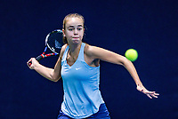 Hilversum, Netherlands, December 2, 2018, Winter Youth Circuit Masters, Bente Spee (NED)<br /> Photo: Tennisimages/Henk Koster
