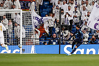 23rd November 2019; Estadio Santiago Bernabeu, Madrid, Spain; La Liga Football, Real Madrid versus Real Sociedad; Willian Jose (Real Sociedad)  scores to make it 0-1 - Editorial Use