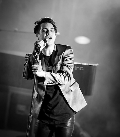 LAS VEGAS, NV - May 12, 2016: ***HOUSE COVERAGE*** Panic! At The Disco performs at The Boulevard Pool at The Cosmopolitan of Las Vegas in Las vegas, NV on May 12, 2016. Credit: Erik Kabik Photography/ MediaPunch