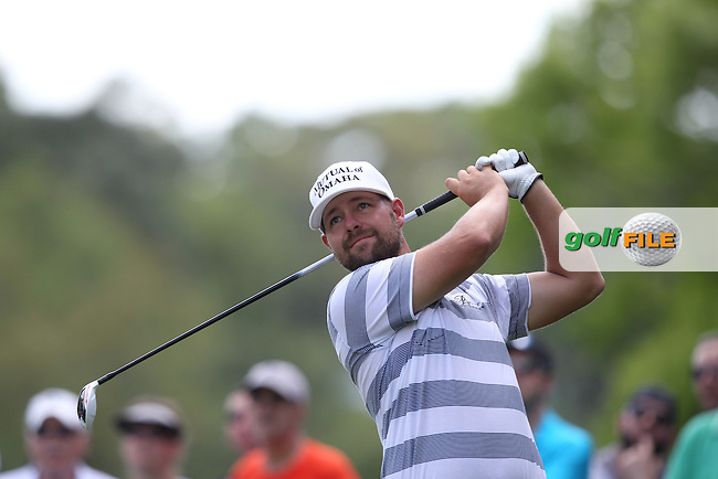 Ryan Moore of USA drives from the 2nd tee during the 3rd round of the Valspar Championship, Innisbrook Resort (Copperhead), Palm Harbor, Florida, USA<br /> Picture: Peter Mulhy / Golffile