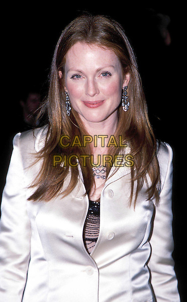 JULIANNE MOORE.at the British Academy Film & Television Awards (Bafta Awards 2003) , Odeon, Leicester Square.Ref: AH.half length, half-length.www.capitalpictures.com.sales@capitalpictures.com.© Capital Pictures