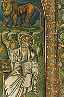 Ravenna: Temple of San Vitale--The Evangelist St. Mark.