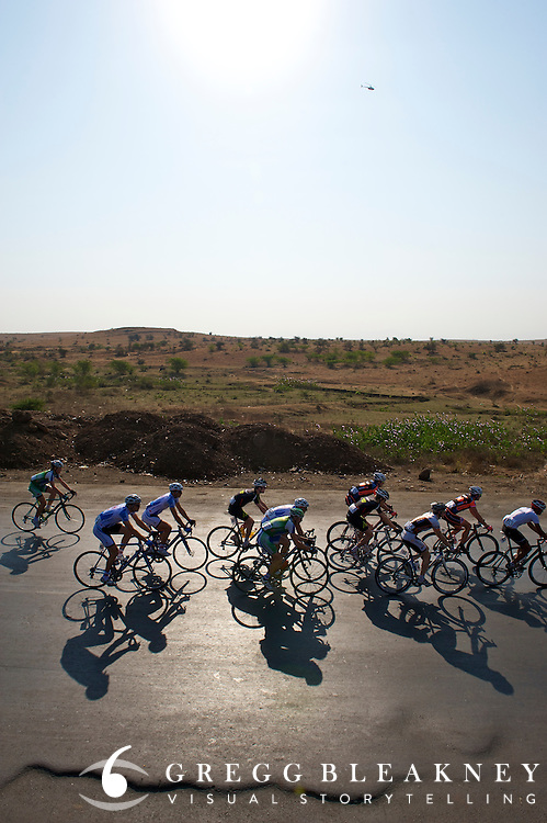 Historical first open road stage race in Nashik, India - UCI 1.1 Nashik Cyclothon - Tour of India