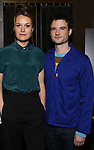 "Tom Sturridge and director Carrie Cracknell during ""Sea Wall/A Life"" Cast Photo Call at Dream Hotel on June 5, 2019 in New York City."