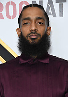 09 February 2019 - Los Angeles, California - Nipsey Hussle. 2019 Roc Nation THE BRUNCH held at a Private Residence. Photo Credit: Birdie Thompson/AdMedia