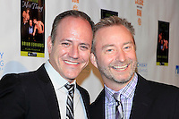 """MALIBU - OCT 21: Michael Caprio, Randy Slovacek at the """"Enter Miss Thang"""" Book Launch Party at Cafe Habana on October 21, 2013 in Malibu, California"""
