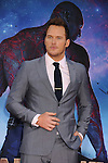 HOLLYWOOD, CA- JULY 21: Actor Chris Pratt arrives at the Los Angeles premiere of Marvel's 'Guardians Of The Galaxy' at the El Capitan Theatre on July 21, 2014 in Hollywood, California.