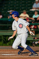 DJ LeMahieu (17) of the Daytona Cubs during a game vs. the St. Lucie Mets May 17 2010 at Jackie Robinson Ballpark in Daytona Beach, Florida. St. Lucie won the game against Daytona by the score of 5-2.  Photo By Scott Jontes/Four Seam Images
