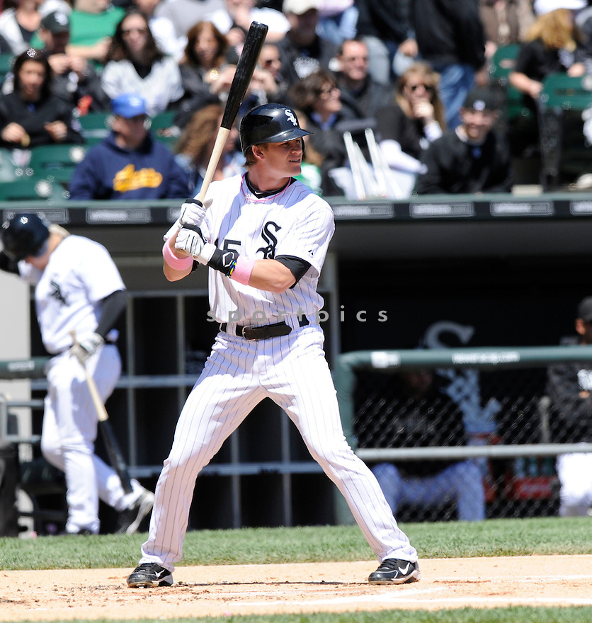 GORDON BECKHAM, of the Chicago White Sox in action during the  White Sox game against the Toronto Blue Jays  at US Cellular Field in Chicago, IL  on May 09, 2010...The Toronto Blue Jays win 9-7.