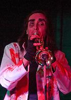 Generic Eric: Trumpet Man Dan, Barnboppers and Shuddervision, Ska-lloween Gig 29 October 2011 The Wagon and Horses, Digbeth,