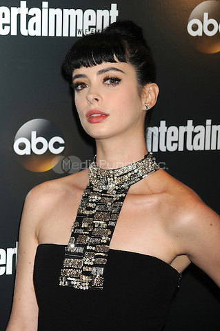 Krysten Ritter attends the Entertainment Weekly & ABC-TV Up Front VIP Party at Dream Downtown on May 15, 2012 in New York City. Credit: Dennis Van Tine/MediaPunch