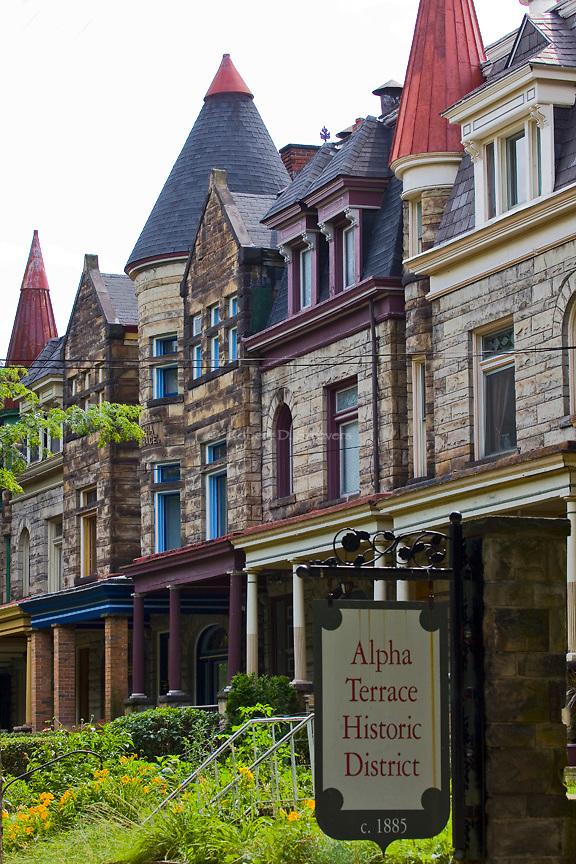 Pittsburgh's Neighborhoods - Alpha Terrace, Highland Park