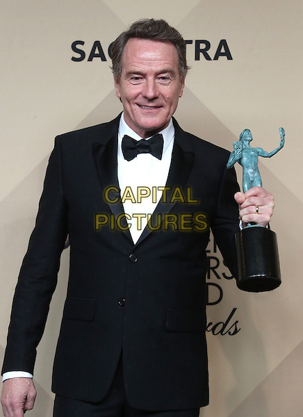 29 January 2017 - Los Angeles, California - Bryan Cranston. 23rd Annual Screen Actors Guild Awards held at The Shrine Expo Hall. <br /> CAP/ADM/FS<br /> &copy;FS/ADM/Capital Pictures