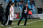 Sevilla´s coach Unai Emery during 2014-15 La Liga match at Alfonso Perez Coliseum stadium in Getafe, Spain. February 08, 2015. (ALTERPHOTOS/Victor Blanco)