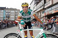 Javier Aramendia during the stage of La Vuelta 2012 between Ponteareas and Sanxenxo.August 28,2012. (ALTERPHOTOS/Paola Otero) /NortePhoto.com<br /> <br /> **CREDITO*OBLIGATORIO** <br /> *No*Venta*A*Terceros*<br /> *No*Sale*So*third*<br /> *** No*Se*Permite*Hacer*Archivo**<br /> *No*Sale*So*third*