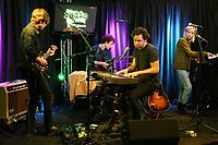 BALA CYWYD, PA - NOVEMBER 7 :  Lo Moon visit Radio 104.5 performance studio in Bala Cynwyd, Pa on November 7, 2017   Credit:  Star Shooter / MediaPunch /NortePhoto.com