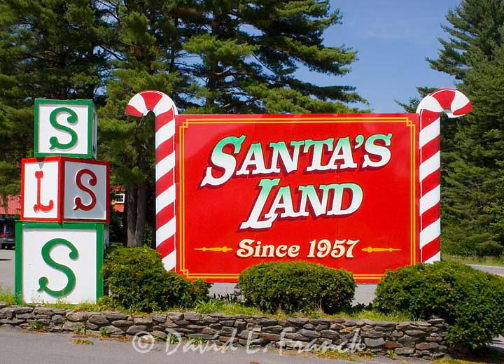 Santa's Land USA in Putney, Vermont