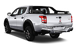 Car pictures of rear three quarter view of a 2018 Fiat Fullback Cross Techno 4 Door Pick Up angular rear