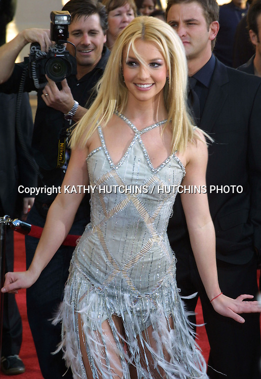 ©2003 KATHY HUTCHINS / HUTCHINS PHOTO.AMERICAN MUSIC AWARDS .LOS ANGELES, CA.NOVEMBER 16, 2003..BRITTANY SPEARS