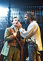 The Rover by Aphra Behn, A Royal Shakespeare Company Production directed by Loveday Ingram. With Leander Deeny as Blunt , Joseph Millson as Willmore. Opens at The Swan Theatre, Stratford Upon Avon on 15/9/16. CREDIT Geraint Lewis