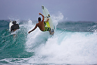 JOEL PARKINSON (AUS) free surfing at Snapper Rocks, Coolangatta, Queensland, Australia.  Photo: Joli