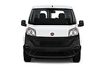 Car photography straight front view of a 2018 Fiat Fiorino Base 5 Door MPV