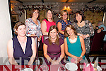 Little Stars Tralee/Abbeydorney Mothers enjoying a  Night Out at Cassidy's on Friday . Pictured  Front left to right, Julianna Fitzmaurice, Karen O'Connor, Lisa O'Rourke.  Back left to right, Rochelle Moloney, Sinead O'Sullivan, Martina Gaynor, Breda Fitzmaurice