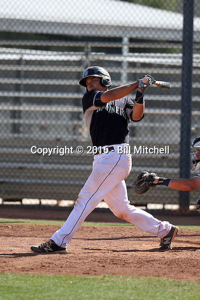 Steve Baron - Seattle Mariners 2016 spring training (Bill Mitchell)
