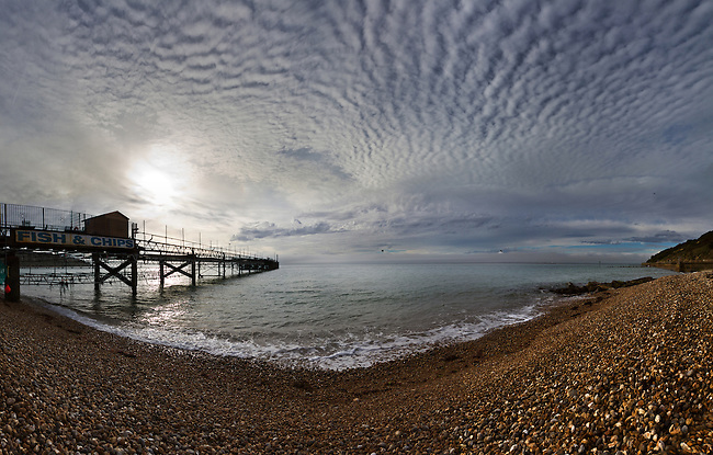 Everything changes&hellip;. The old pier in Totland Bay is being pulled down and replaced and I really hope the new design keeps some of the old charm. Over the years it&rsquo;s been one of my favourite places to be with my camera, especially when Mackerel skies cover the bay.<br />