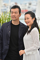 Tao Zha &amp; Fan Liao at the photocall for &quot;Ash is the Purest White&quot; at the 71st Festival de Cannes, Cannes, France 12 May 2018<br /> Picture: Paul Smith/Featureflash/SilverHub 0208 004 5359 sales@silverhubmedia.com