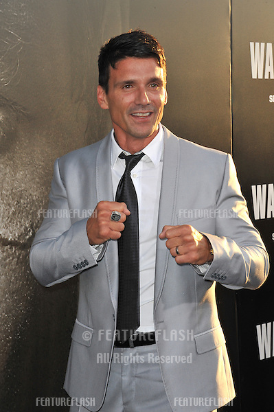 "Frank Grillo at the world premiere of his new movie ""Warrior"" at the Arclight Theatre, Hollywood..September 6, 2011  Los Angeles, CA.Picture: Paul Smith / Featureflash"