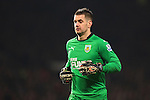 Tom Heaton of Burnley - Manchester United vs. Burnley - Barclay's Premier League - Old Trafford - Manchester - 11/02/2015 Pic Philip Oldham/Sportimage