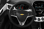 Car pictures of steering wheel view of a 2017 Chevrolet Spark 1LT 5 Door Hatchback Steering Wheel