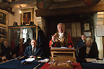 Mayoring Ceremony Winchelsea East Sussex. <br />
