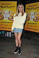 """Amber Davies at the """"9 To 5 The Musical"""" theatre cast stage door departures, The Savoy Theatre, The Strand, London, England, UK, on Saturday 11th May 2019.<br /> CAP/CAN<br /> ©CAN/Capital Pictures"""