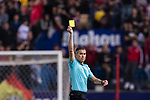 Referee Ignacio Iglesias Villanueva during the La Liga match between Atletico de Madrid vs Villarreal CF at the Estadio Vicente Calderon on 25 April 2017 in Madrid, Spain. Photo by Diego Gonzalez Souto / Power Sport Images