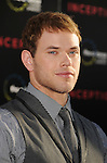 "HOLLYWOOD, CA. - July 13: Kellan Lutz arrives to the ""Inception"" Los Angeles Premiere at Grauman's Chinese Theatre on July 13, 2010 in Hollywood, California."